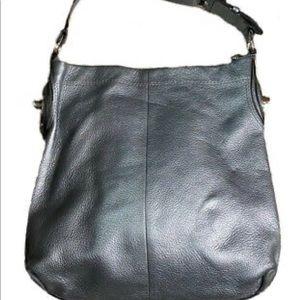 EUC 😜 Coach Penelope F16535 Black Pebbled Leather Hobo Purse Handbag